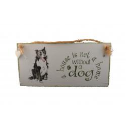 Cintre décoratif chien