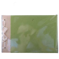Album de photographies vert