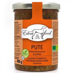 Edenfood Hundemenü Bio-Pute