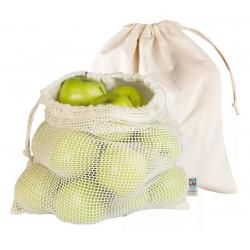 Bio-Baumwollbeutel für Obst...