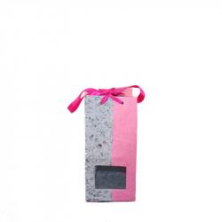 Marmeladentüte grau/pink